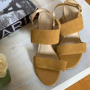 Leather and suede sandals MrCat designer size 9